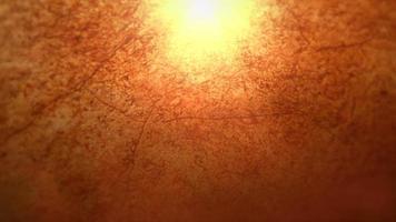 filmische oranje achtergrond met schud- en bewegingsdeeltje