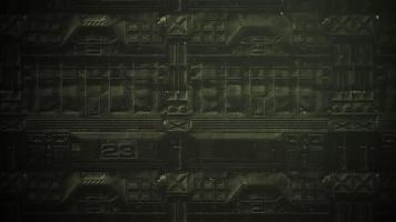 filmisch thema met deeltjes en donkere stalen achtergrond