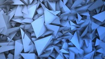 mouvement formes géométriques bleu foncé, fond abstrait video