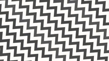 movimiento intro geométrico zig zag blanco y negro, fondo abstracto