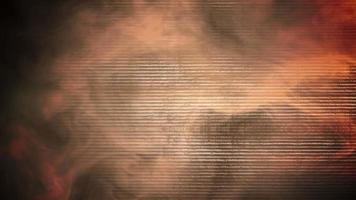 animatie bewegingsrook op muur van gebouw en bewegingscamera, filmische achtergrond