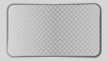 Silver metal steel background texture, vector illustration