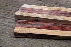 Natural rosewood texture background photo