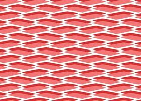 Hand drawn, red, white colors shapes 3d seamless pattern