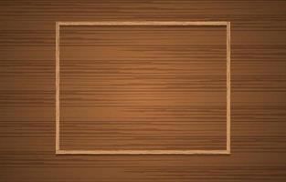 Minimalist Brown Wooden Background vector