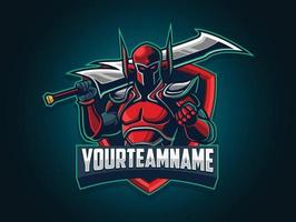 Online Gaming Team Villain Character vector
