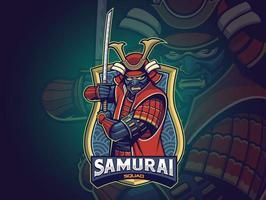 Samurai Esports Logo for your team vector