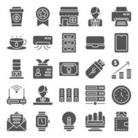 Work Space icon pack vector