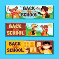Back to School with Protocol vector