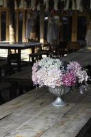 Simple flower arrangement photo