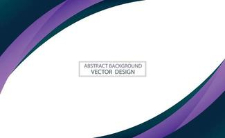 Abstract web template black and blue lines on white background - Vector