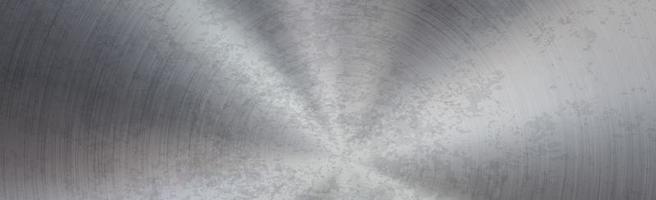 Fondo de metal panorámico con óxido - vector