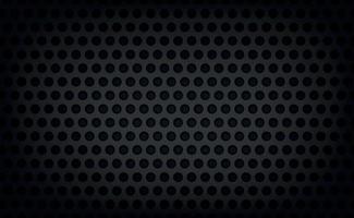 material de metal perforado textura de fondo oscuro - vector