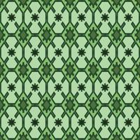 Patrón étnico abstracto de tela geométrica, estilo de ilustración vectorial sin costuras. diseño para tela, cortina, fondo, alfombra, papel pintado, ropa, envoltura, batik, tela, azulejo, cerámica vector