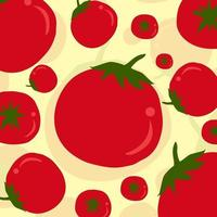 Tomato Pattern Vector