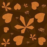 Autumn Pattern Vector