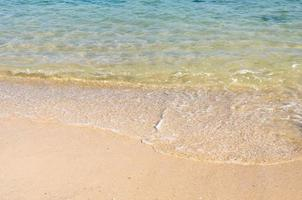 olas del mar claras foto