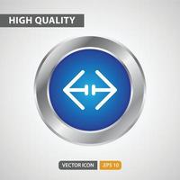 resize icon for your web site design, logo, app, UI. Vector graphics illustration and editable stroke. EPS 10.