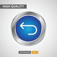previous icon for your web site design, logo, app, UI. Vector graphics illustration and editable stroke. EPS 10.