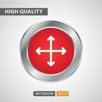 move icon for your web site design, logo, app, UI. Vector graphics illustration and editable stroke. EPS 10.