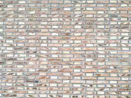 Orange random brick glass photo