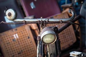 vieja bicicleta vintage foto
