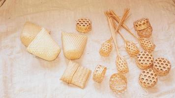 Woven basket package