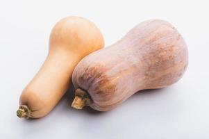 Two gourds on white