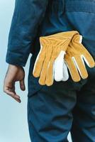 Gloves in back pocket photo