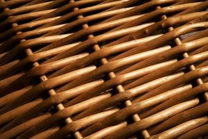 Wicker basket texture photo