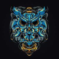 owl mecha robotic artwork illustration vector