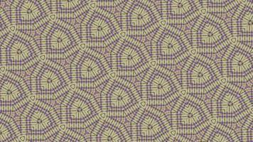 Fondo de mandala con textura abstracta con patrón simétrico video