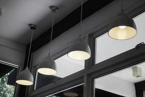Modern contemporary interior lighting photo