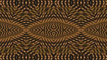 fundo transformável da textura do metal dourado. video