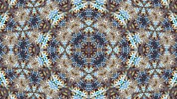 funkelnder Mandala Hintergrund. Design, Kunst.