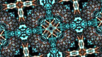 fundo animado escuro futurista com esferas.