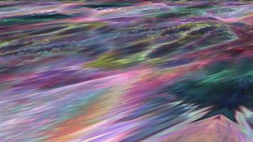 movendo-se arco-íris com textura de fundo iridescente. video