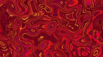 lindo fundo abstrato vermelho texturizado iridescente. video
