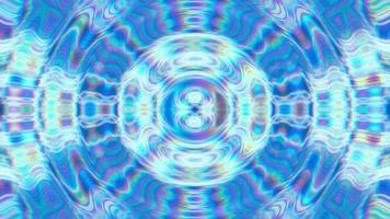fundo azul abstrato da textura em movimento. video