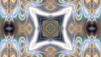 fundo de mandala texturizado abstrato com padrão simétrico video