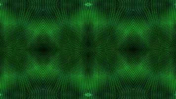 fundo de caleidoscópio verde brilhante texturizado.