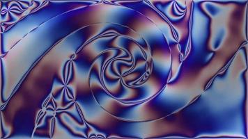 fundo de cromo iridescente abstrato. design, arte video