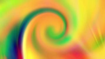 fundo multicolorido abstrato com uma espiral móvel.