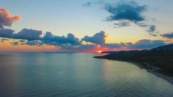 Cinemograph of A Sea Landscape with A Beautiful Sunset video