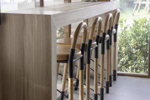 muebles de cafeteria foto