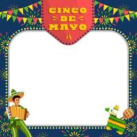 Musicians Playing The Accordion in Cinco De Mayo