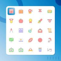 University icon pack isolated on white background. for your web site design, logo, app, UI. Vector graphics illustration and editable stroke. EPS 10.
