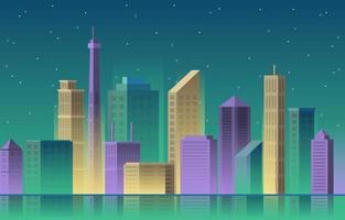 Building Architecture Construction Cityscape Skyline Business Illustration