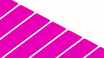 movimento introdução listras rosa geométricas, fundo abstrato