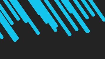 movimento introdução linhas azuis geométricas, fundo abstrato video